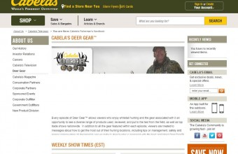 Cabela's Deer Gear